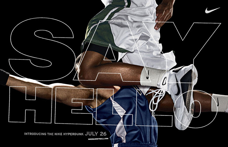 Nike Basketball Hyperdunks Ad: Say Hello